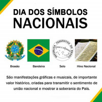 Conheça a história e as curiosidades dos Símbolos Nacionais  País