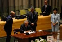 Temer assina Tratado sobre a Proibição de Armas Nucleares