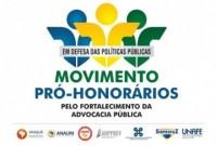 Movimento Pró-Honorários divulga material informativo