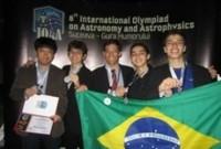 Brasil ganha medalha de prata em Olimpíada de Astronomia