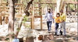 Dr. Pessoa visita obras do Parque da Criança, que ficará pronto até o final de outubro