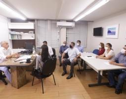 Secretaria de Finanças destaca capacidade técnica dos auditores fiscais durante reunião