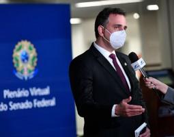 Primeira reunião da CPI será presencial para eleição de presidente, diz Pacheco
