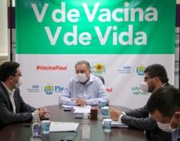 Seduc e Sesapi debatem sobre vacinação para profissionais da educação