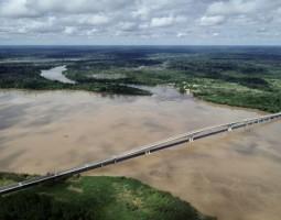 Inaugurada ponte que conecta os estados de Rondônia e Acre