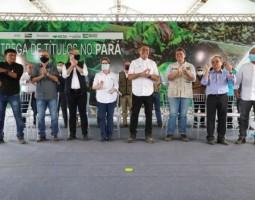 Assentados recebem mais de 50 mil títulos de terra no Pará
