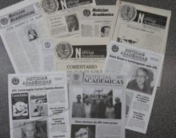 """APL digitaliza acervo do boletim """"Notícias Acadêmicas"""""""