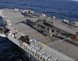 Forças Armadas realizam exercícios integrados com uso do maior navio do Brasil