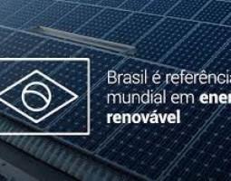 Brasil é referência no campo da energia limpa e renovável