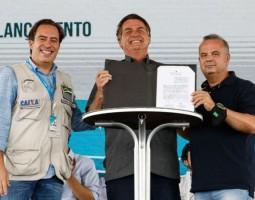 Presidente Jair Bolsonaro dá início à Jornada das Águas para garantir segurança hídrica em regiões secas