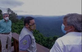 Vice-presidente Mourão visita Floresta Nacional dos Carajás no Pará