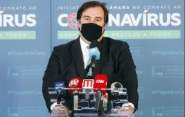 Maia defende convocação do Congresso em janeiro para votar propostas sobre pandemia e ajuste fiscal