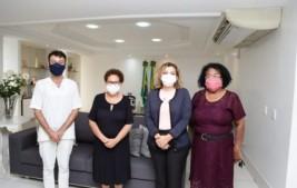 Governadora em exercício debate participação do Piauí no Sistema Nacional de Direitos Humanos com gestores da Sasc