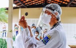 Piauí já ultrapassou 57 mil vacinados contra a Covid-19