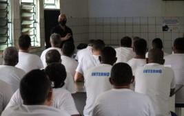 Sejus inicia programação de palestras no sistema prisional sobre dependência química
