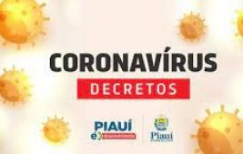 Decreto proíbe comércio, bares e praias de terça (30) a domingo (4) em todo o Piauí