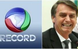 O nosso Presidente, Capitão Bolsonaro, será entrevistadoàs 22:00 hna TV Record.