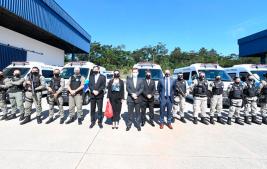 Governo Federal entrega novos veículos para o sistema prisional brasileiro