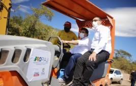 Rafael Fonteles visita municípios do norte e autoriza investimentos do PRO Piauí