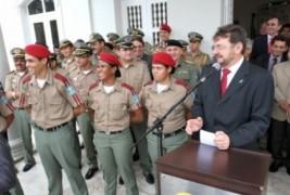 Governador nomeia 148 soldados para o quadro efetivo da Polícia Militar