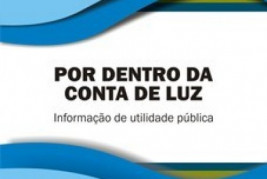 Cartilha explica composição das tarifas de energia praticadas no Brasil