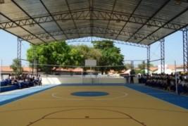 Governo constrói 69 quadras e ginásios poliesportivos em 2013