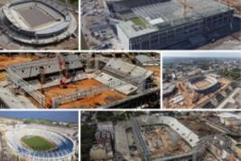 Faltando 300 dias para a Copa 2014, obras nos estádios entram na reta fina
