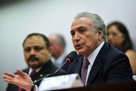 Michel emer quer que reforma política reduza número de partidos