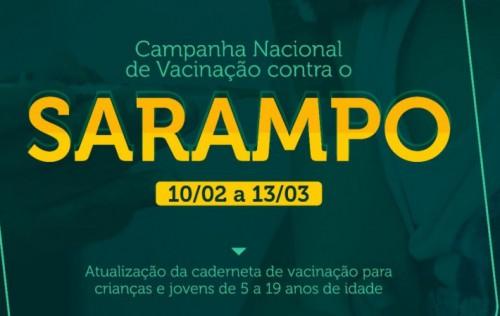Saúde disponibiliza 17 salas de vacinação contra o Sarampo