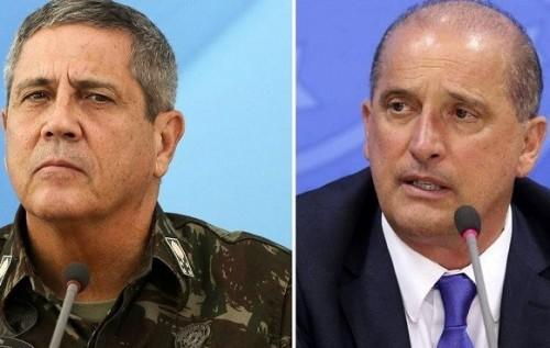 JAIR BOLSONARO CONFIRMA BRAGA NETO NA CASA CIVIL