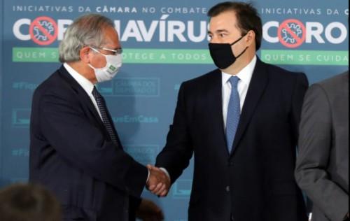 Pacto federativo deve reorganizar receitas, propõe Rodrigo Maia