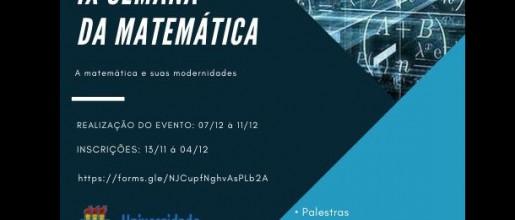 Uespi de Teresina realiza Semana de Matemática