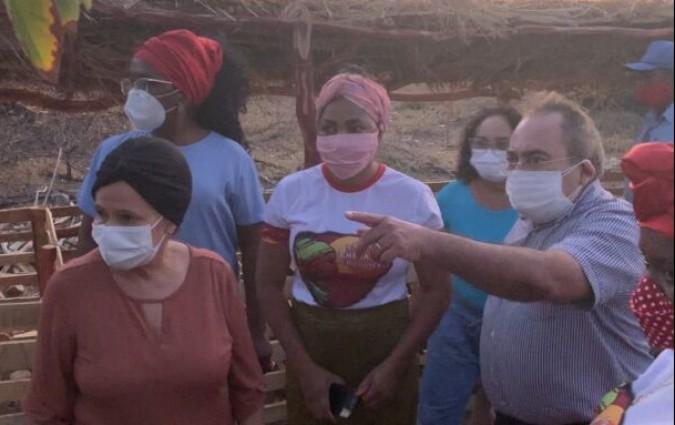 Vice-governadora conhece ações do Emater e da SAF em comunidades quilombolas do Piauí