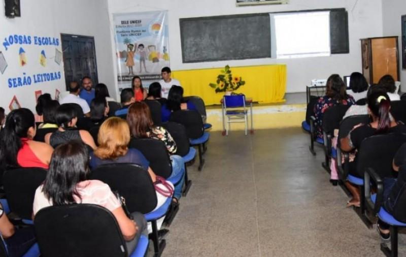 SEMED capacita professores para implementação da BNCC em Floriano