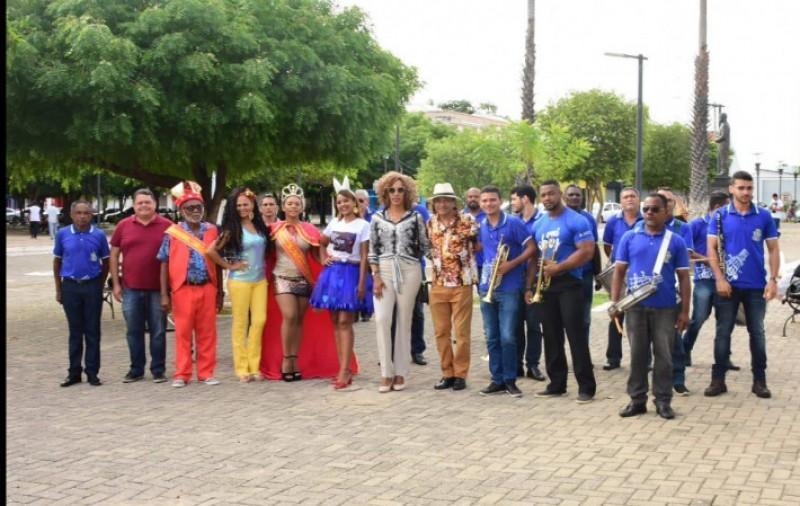 Esquenta: 'Alegro de Carnaval' movimenta espaços públicos de Floriano