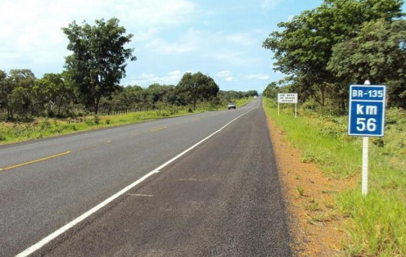 Governo retomará obras de duplicação na BR-135 no Maranhão