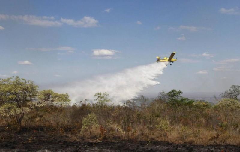 Militares juntam esforços no combate a incêndios no Pantanal