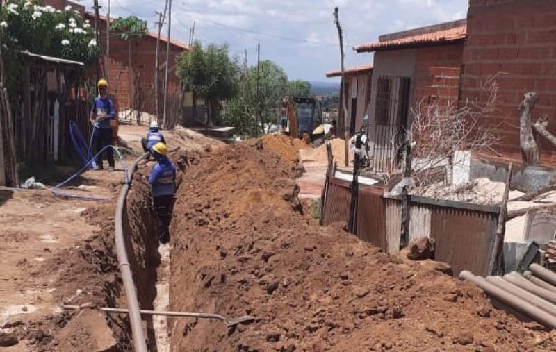 Rede de água tratada chegará para cerca de 240 famílias de residencial da zona sul de Teresina
