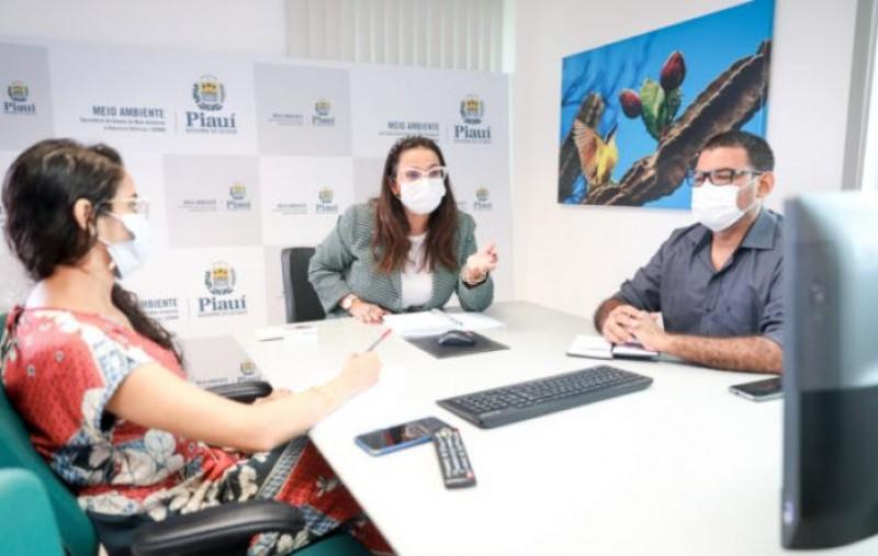 Semar discute parceria com IFPI para capacitação de servidores