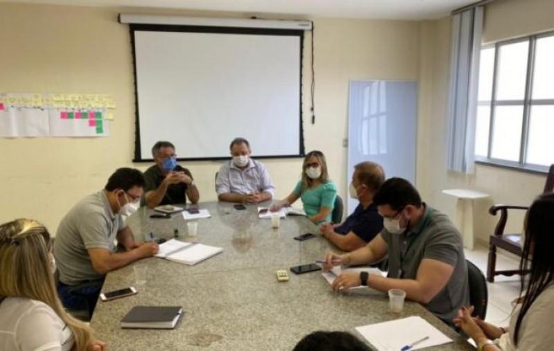 Direção do HGV faz reunião emergencial com secretario da Saúde e diretores da Fepiserh