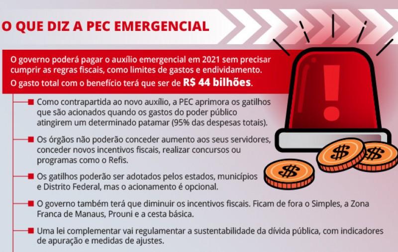 Lira quer votar PEC Emergencial na próxima semana