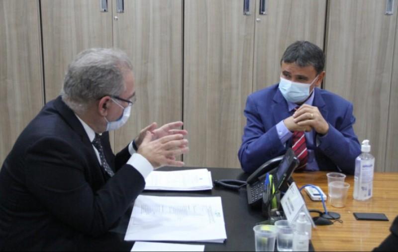 Em reunião com Wellington Dias, Ministério da Saúde se posiciona a favor do uso da Sputnik