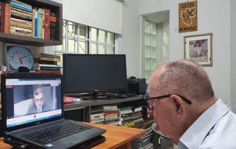 Celso Barros celebra 99 anos