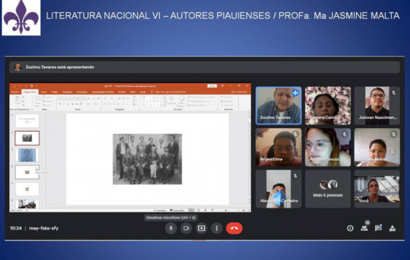 Presidente da APL fala de Literatura Piauiense na UFPI